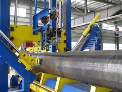 Технологическое оборудование для сварки конических и многогранных опор большого диаметра