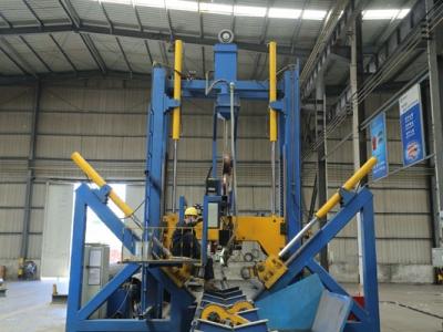 Линия производства стальных многогранных опор на китайского оборудования