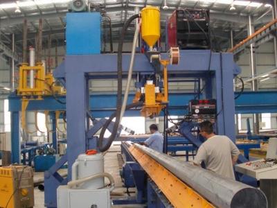 Сварочная установка для производства и сварки опор