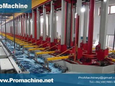 Гальваническая линия с автоматическим управлением